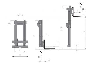 Duplex hefmast