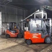 Diesel heftruck vervangen door DME-norm wijziging